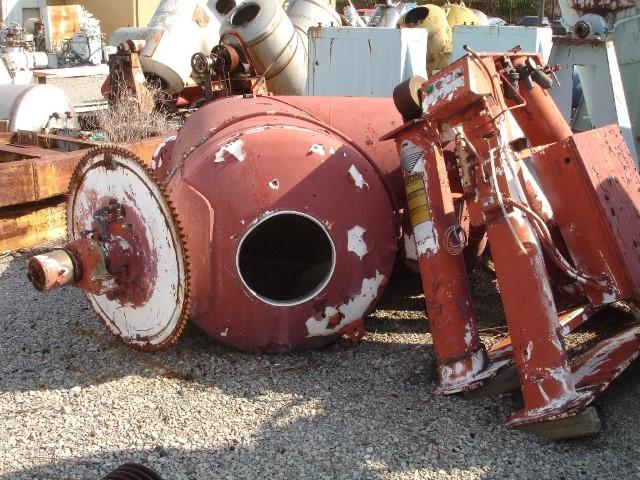 60 Cu Ft P-K Twin Shell Vacuum Dryer, S/S, QTY (2)