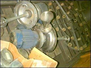 10 HP ROSS MIXER EMULSIFIER, 75 GAL TANK, S/S