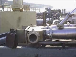"10"" P & E CO. FLUID ENERGY MILL, STAINLESS STEEL"