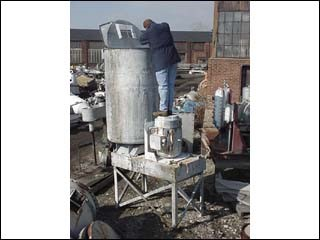 200 GAL KADY MILL, STAINLESS STEEL, JACKETED