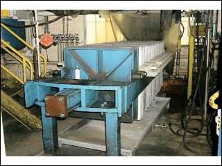 """36"""" AUGEROT FILTER PRESS, POLY, 441.6 SF18.13 CF"""