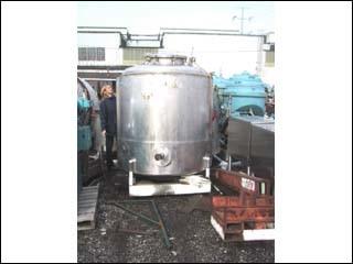 500 GAL MUELLER REACTOR SANITARY S/S, 316 S/S