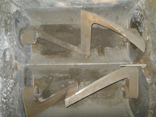300 Gal Day Double Arm Mixer, S/S & C/S