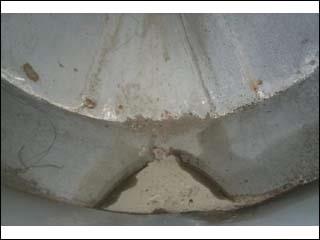 110 CU FT PATTERSON DOUBLE CONE BLENDER, S/S