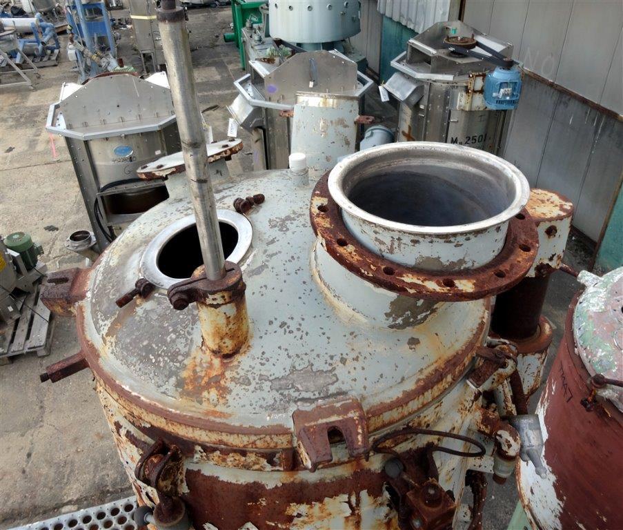 500 Liter Papenmeier High Intensity Mixer, S/S
