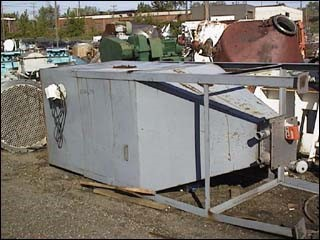 128 CU. FT. CARBON STEEL HOPPER