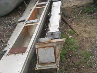 """10"""" X 17'' STAINLESS STEEL JACKETED TROUGH"""