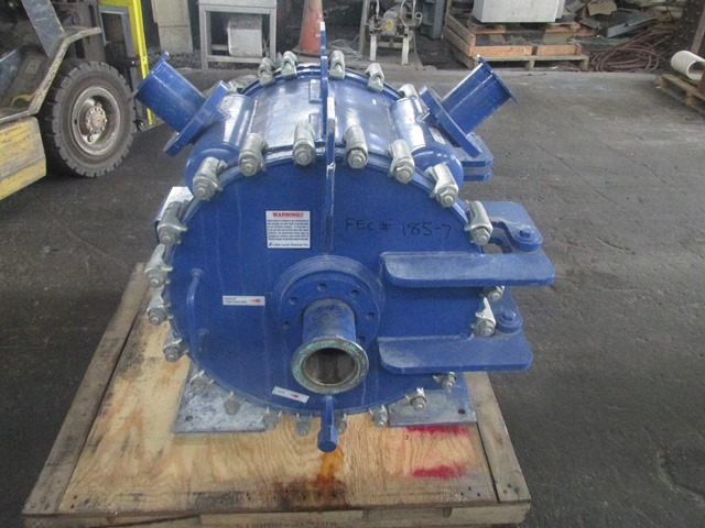 180 Sq Ft Alfa Laval Spiral Heat Exchanger, 304 S/S, 100#