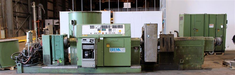 120 mm Erema extrusion pelletizing line, 36/1 L/D