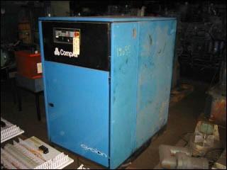 57 HP Compair Air Compressor, Model Cyclon 337
