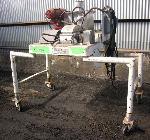 DAO6 FITZMILL, S/S, SCREW FEED, 10 HP