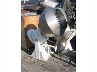 """36"""" COLTON COATING PANS, S/S, (2)"""