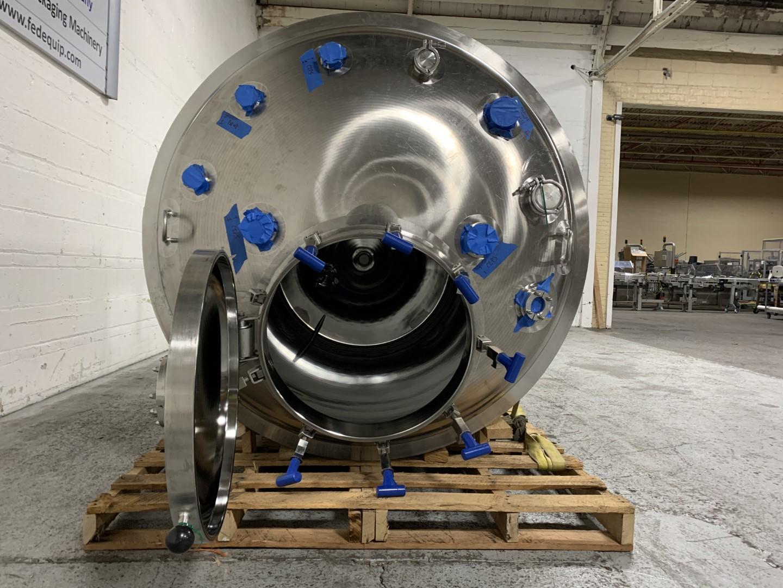 950 Gal Feldmeier Reactor, 316L S/S, 45/100#