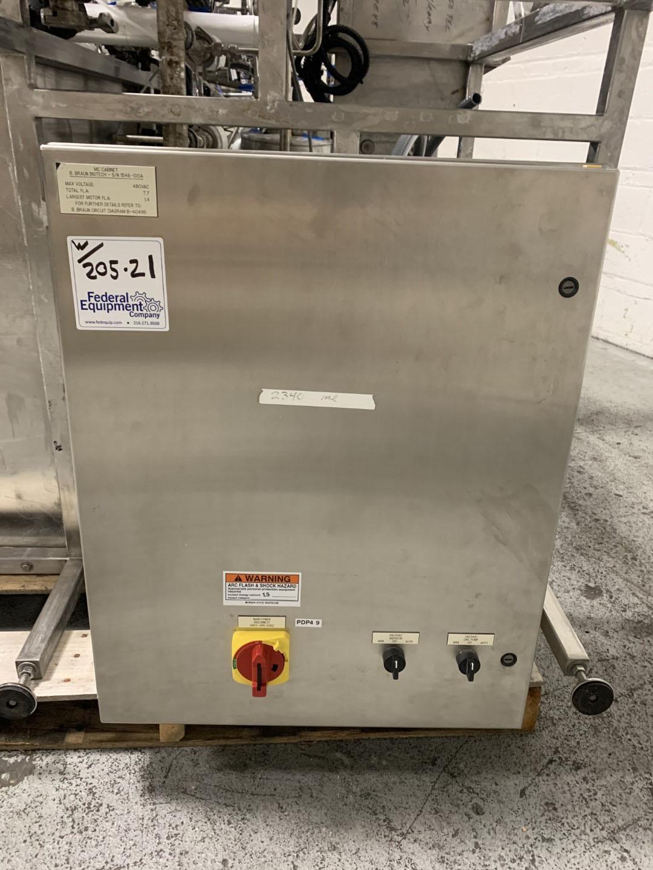 100 Liter B. Braun Biotech Fermentor, 316L S/S, 50/75#