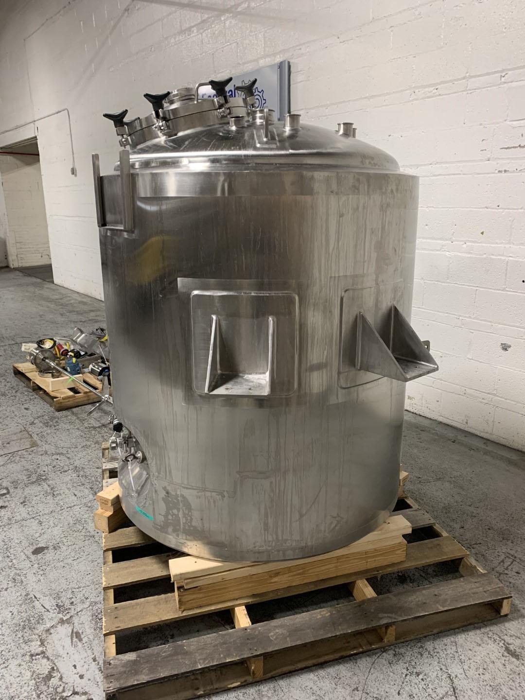 1000 Liter Lee Industries Reactor, 316L S/S, 50/75#