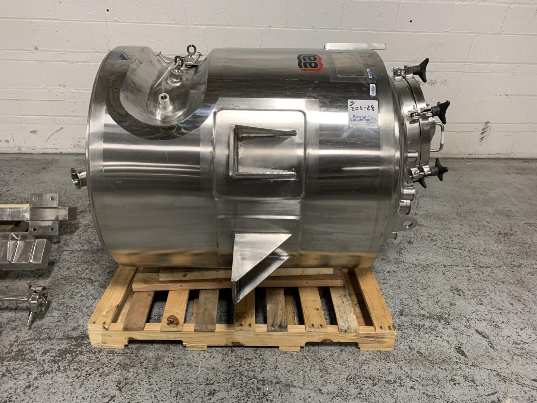 300 Liter Lee Industries Reactor, S/S, 50/75#