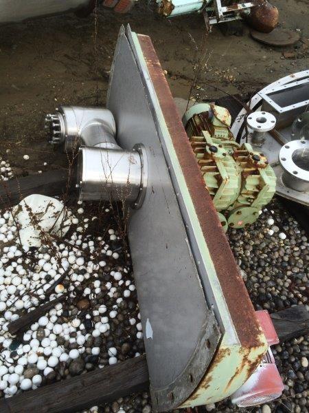 1000 Liter Vrieco Nauta Mixer, S/S