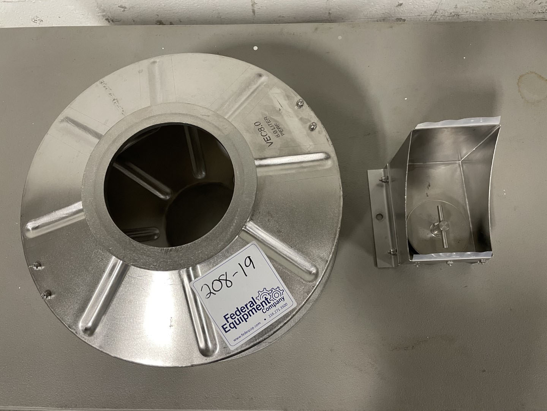 8 Liter Coating Pan for Vector LDCS-3, S/S