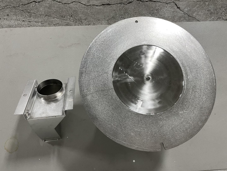 1.3 Liter Coating Pan for Vector LDCS-3, S/S
