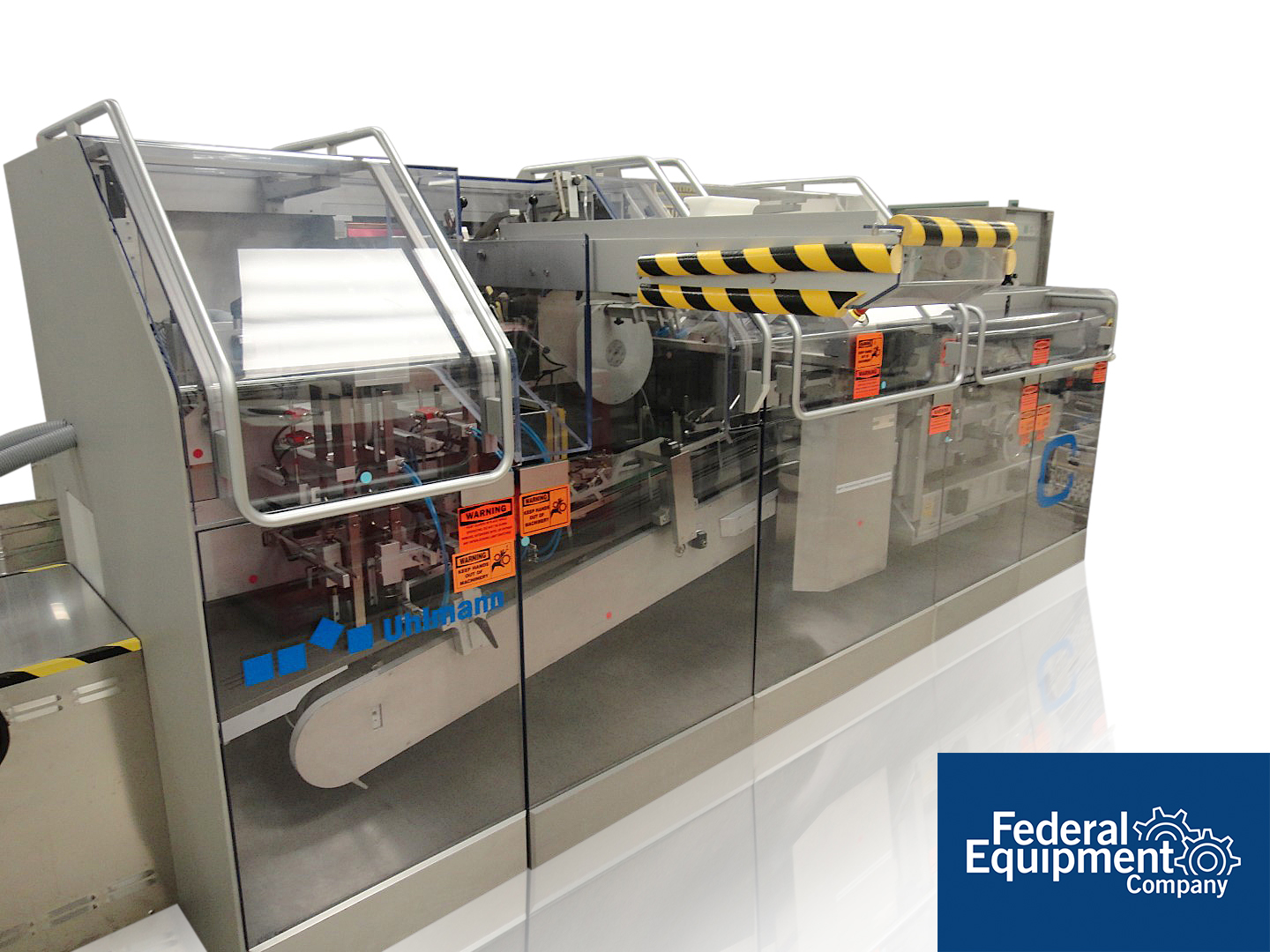 Uhlmann Thermoforming Blister Packaging Line