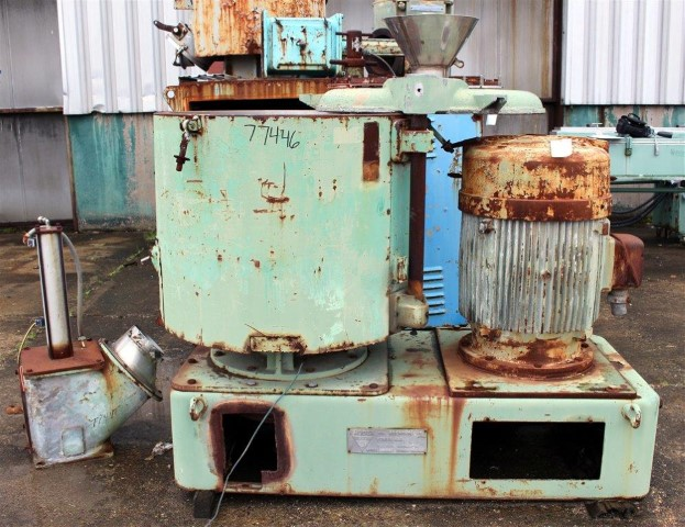 500 Liter Henschel High Intensity Mixer, 316 S/S
