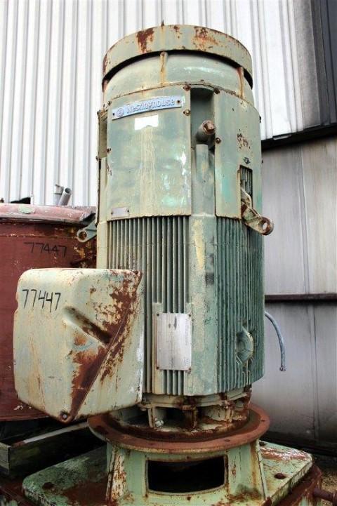 1000 Liter Henschel High Intensity Mixer, S/S