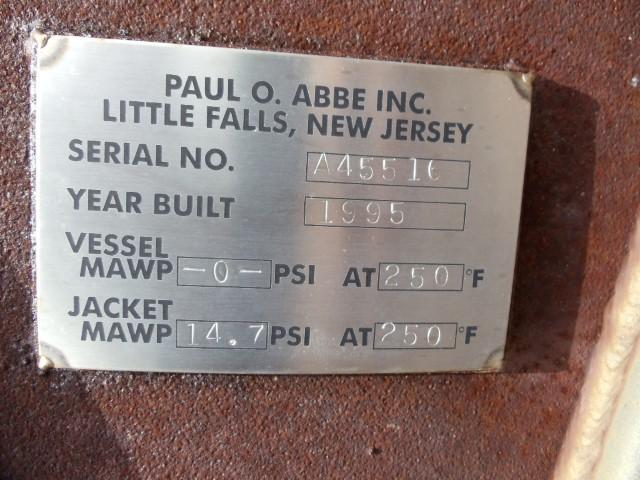 5'' X 4'' PAUL ABBE PEBBLE MILL, JKT.