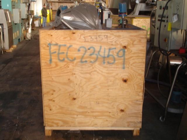 3V COGEIM STERIDRYE ROTARY VACUUM DRYER, HASTELLOY C22