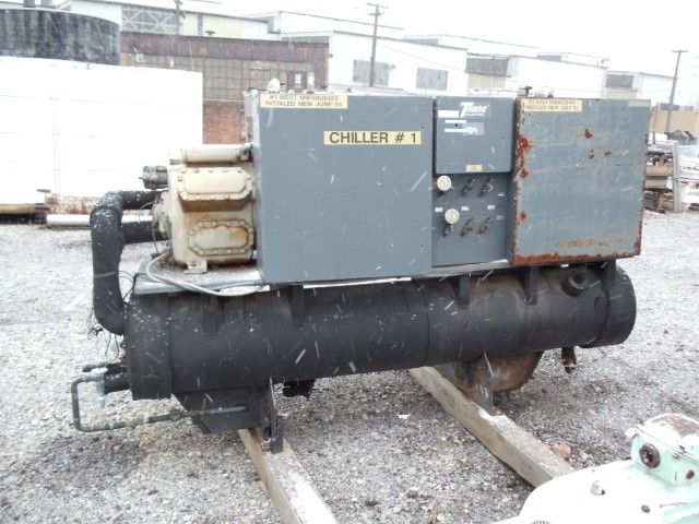 120 TON KRACK CORP CHILLER AIR COOLED