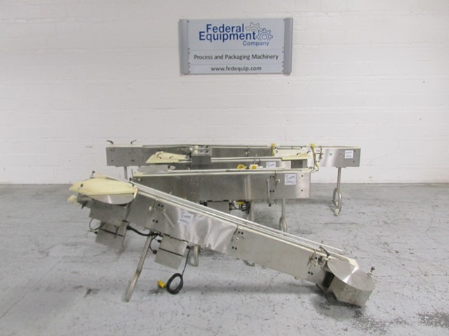 """3"""" TL INDUSTRIES CLEAN ROOM SECTIONAL CONVEYOR, S/S"""