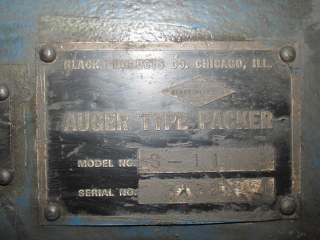 Black Diamond Auger Bag Packer, Model S-11