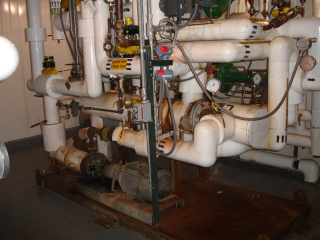 GLYCOL HEATING/COOLING SKID, 10 HP PUMP