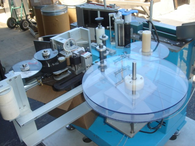 FASSON WRAP AROUND LABELER, MODEL ST-10D