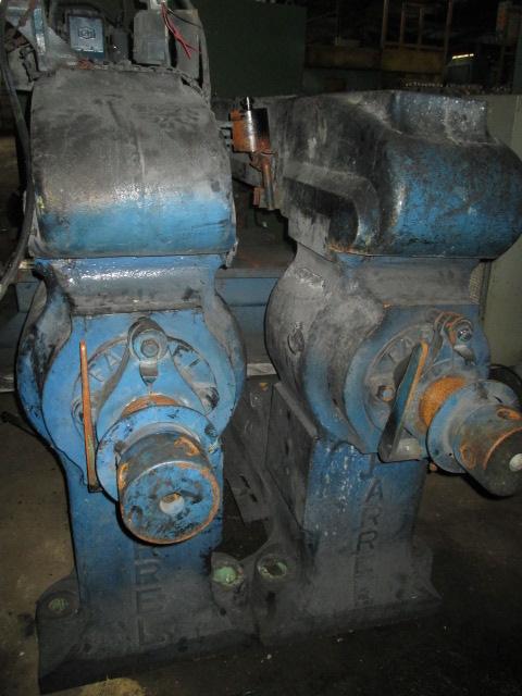 """84"""" x 28"""" Farrel Two Roll Mill, 200 HP"""
