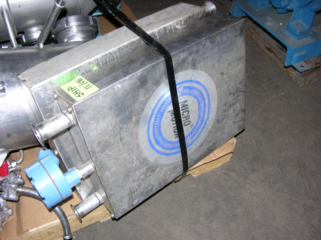 MICRO MOTION FLOW METER, MODEL DL065S242SU