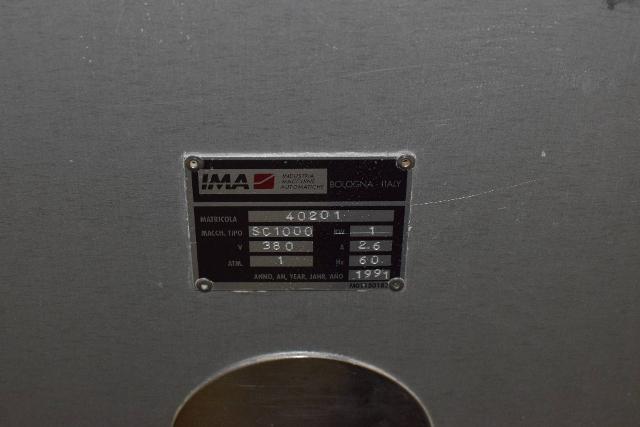 IMA Capsule Sorter, Model SC1000