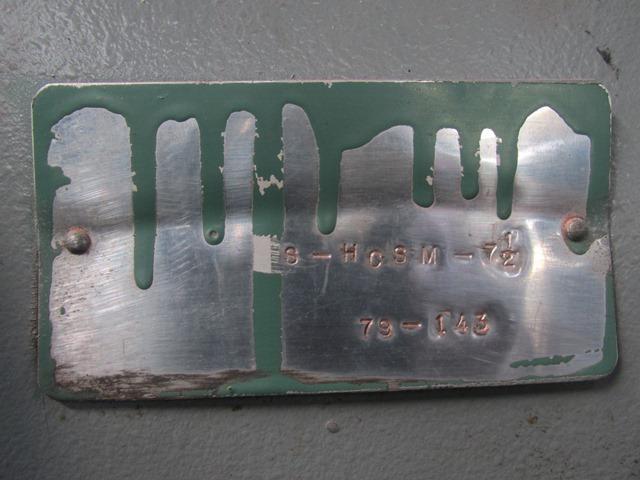 S-HCSM-7.5 Hockmeyer Dual Shaft Disperser, S/S