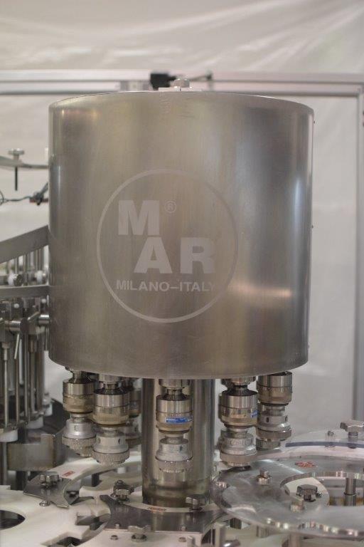 Mar Liquid Filling Line, Model M47-24-10
