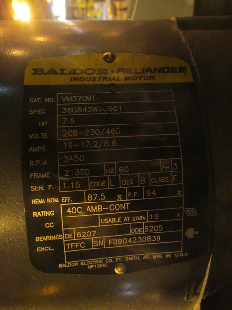 649 Sq Ft Farr Dust Collector, GS Series, C/S
