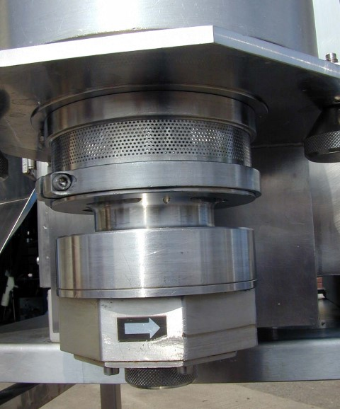NICA EXTRUDER, MODEL E140, S/S