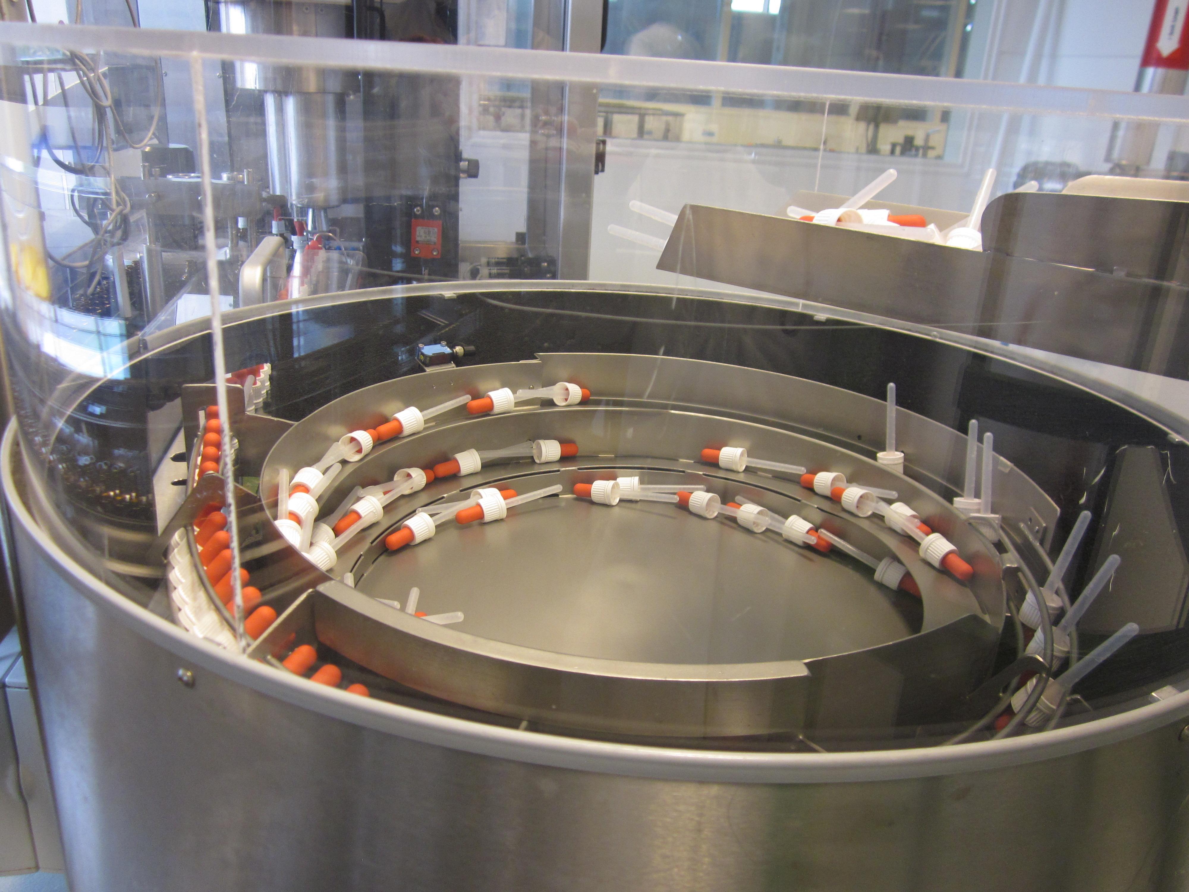 Flexicon Liquid Filling Line, Model PD 121