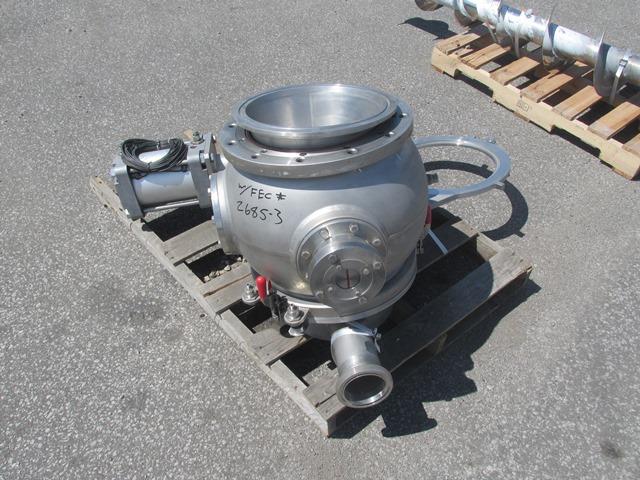 43 Cu Ft Hosokawa Micron Nauta Mixer, Model 15-MFC-43