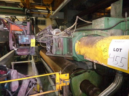 "176"" Voith Sulzer two roll Calender Stack"