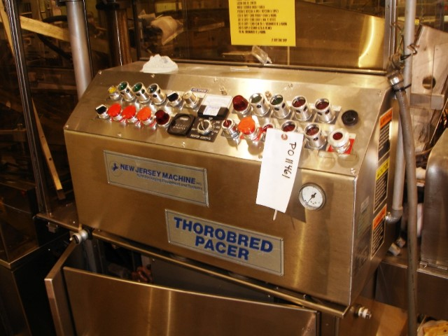 NEW JERSEY THOROBRED PACER LABELER, MODEL 203WRTH