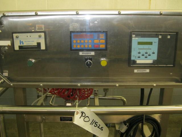 FLOWTEC FLOW METER MODEL DQ600