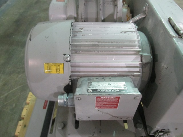 Sutorbilt Blower, Model 4MF, 5 hp