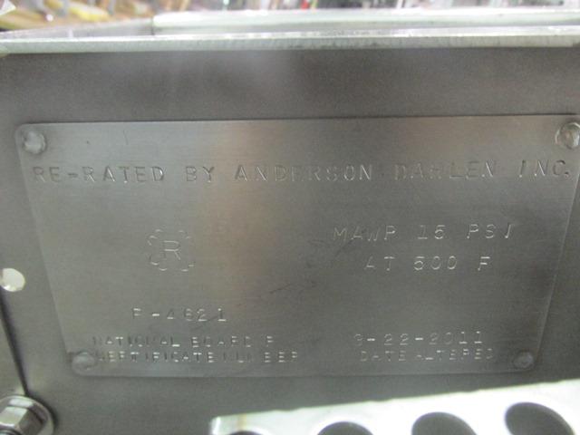 """9"""" Groen Ribbon Blender Conveyor, S/S"""