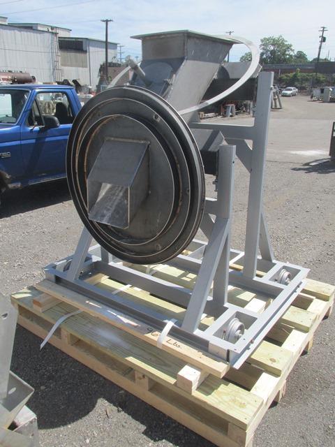 "23.6"" x 24.5'' Riedhammer Rotary Kiln, Model DRI 7.5/60G"