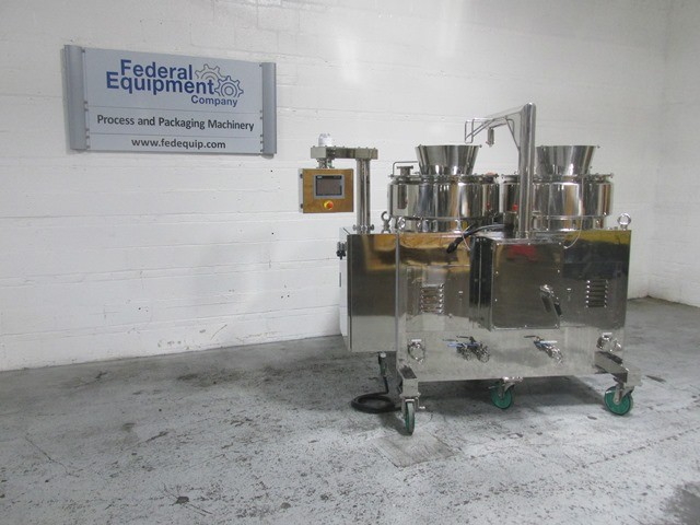 LCI Granulator Spheronizer System, Model TDG-80A / QJ-700TWG