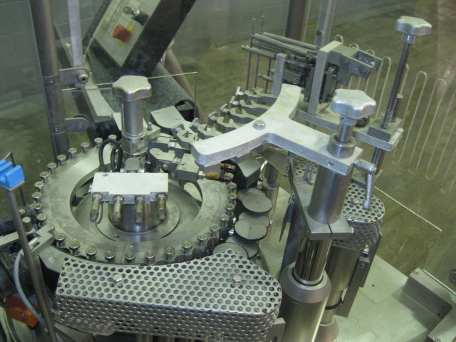 Bausch+Stroebel Ampule Filling Line